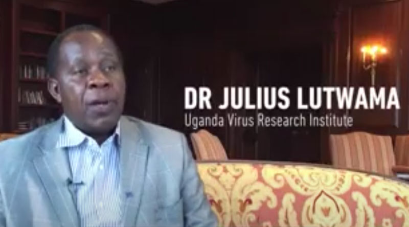 Julius Lutwama Speaks About Emerging Viral Infections