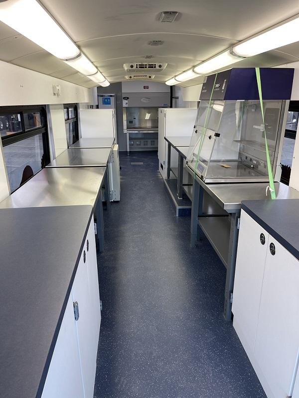 MobileLab interior - Integrum Scientific